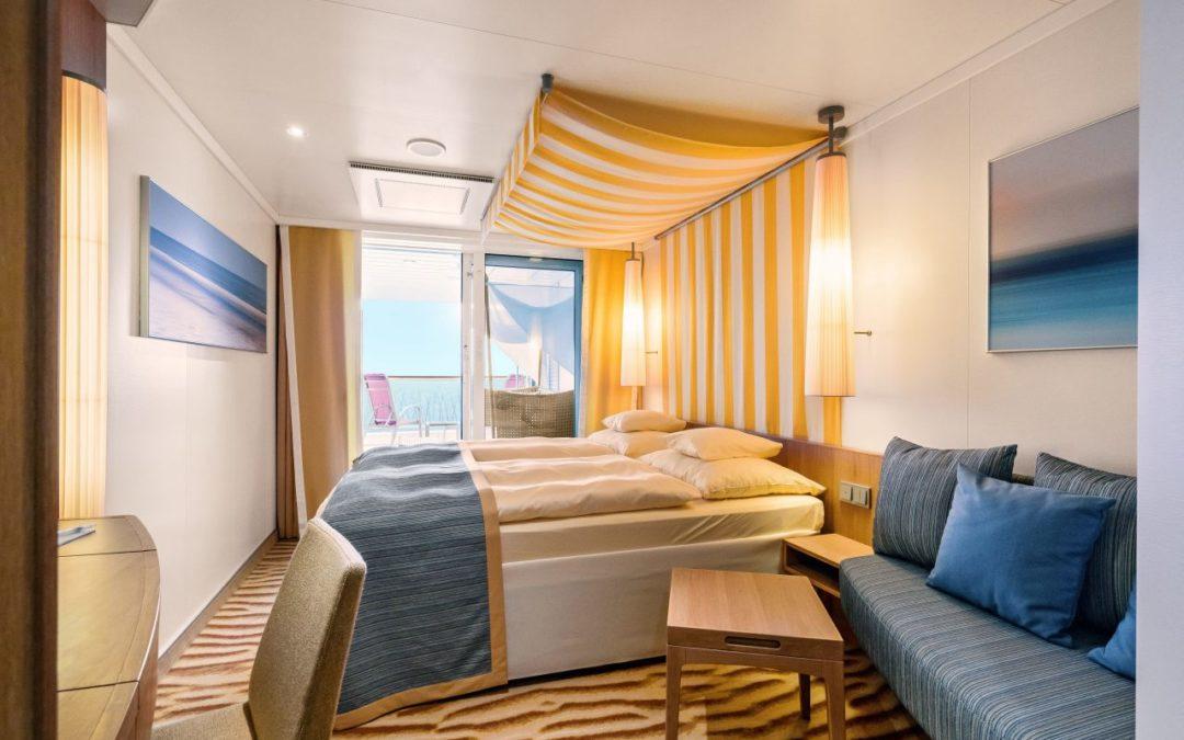 Kabinenbelegung mit fünf Personen auf Aida-Schiffen möglich