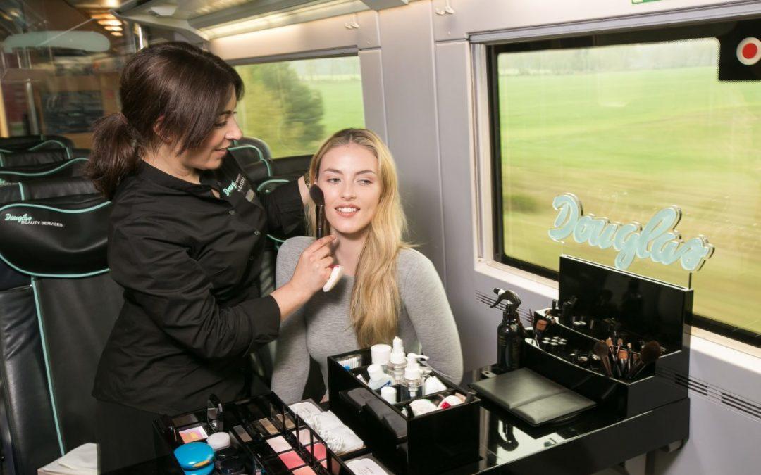 Kostenlose kosmetische Behandlungen im Douglas Beauty-ICE