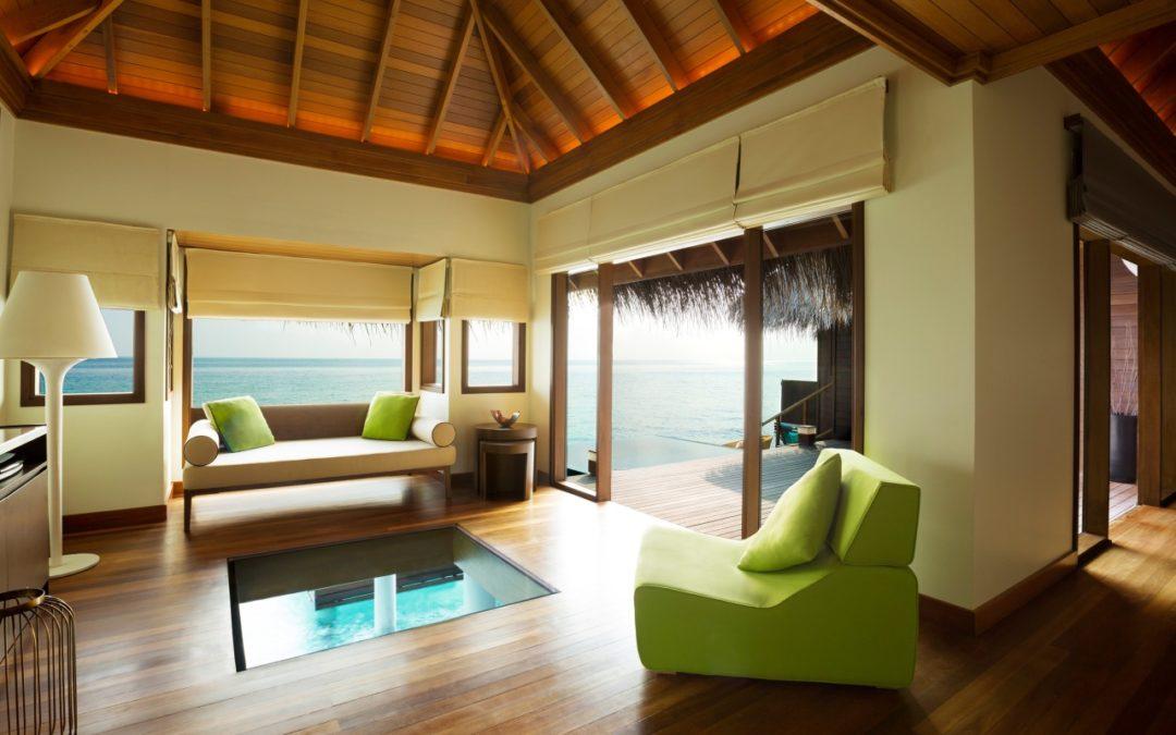 Neues Design im Huvafen Fushi auf den Malediven