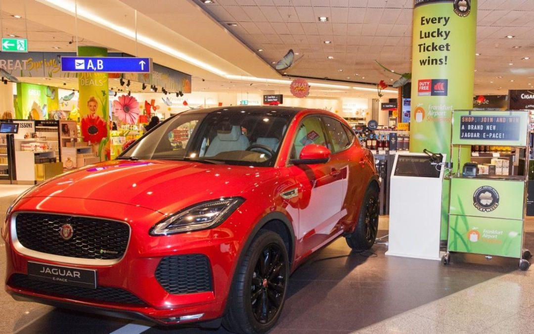 """Jaguar bei """"Lucky Weeks"""" am Flughafen Frankfurt zu gewinnen"""