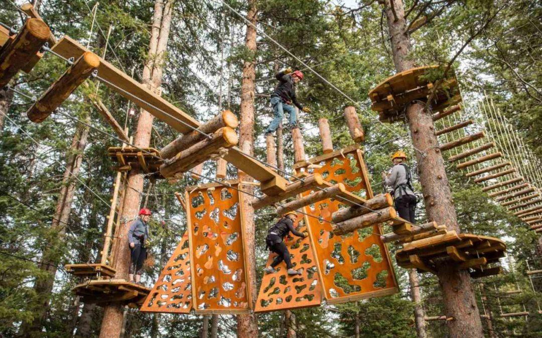 Lost Forest: Neuer Abenteuerpark in Snowmass in Colorado