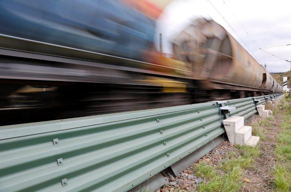 Bahn: erfolgreiche Maßnahmen zu Lärmreduzierung