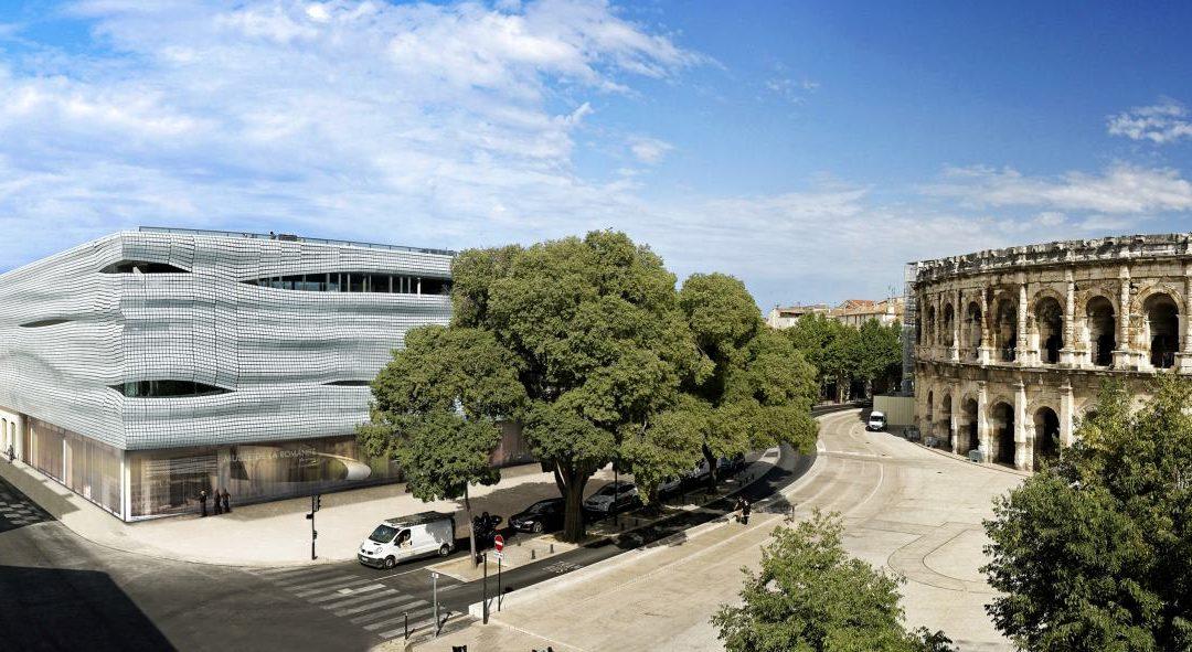 Musée de la Romanité in Nîmes vor Eröffnung