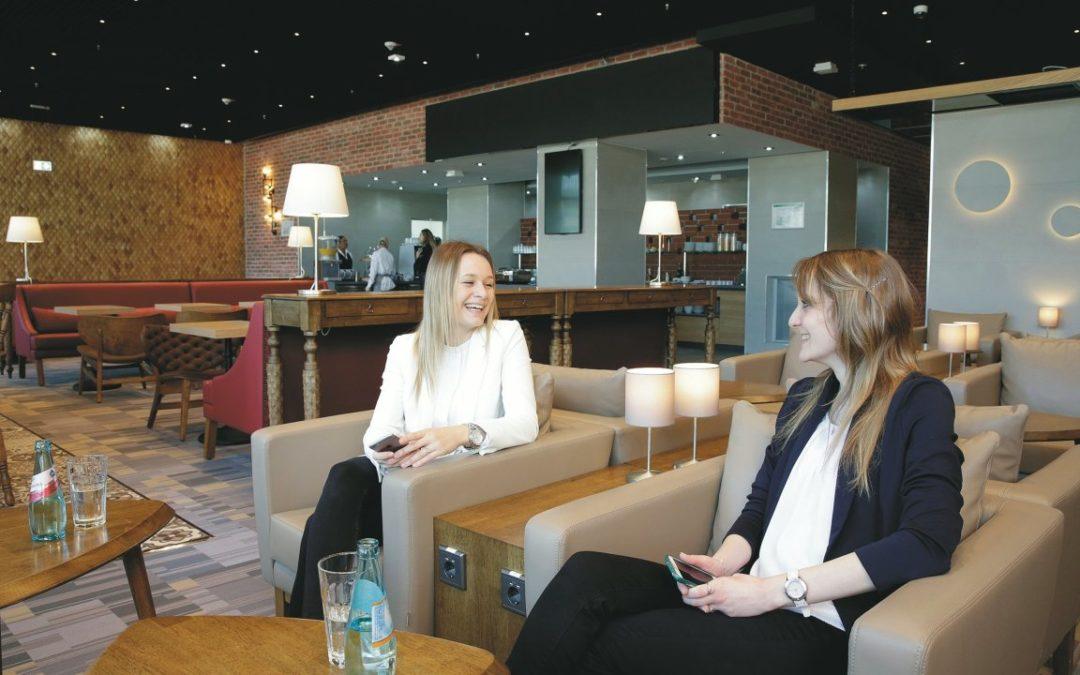 Flughafen Frankfurt: neue Lounge für alle Fluggäste