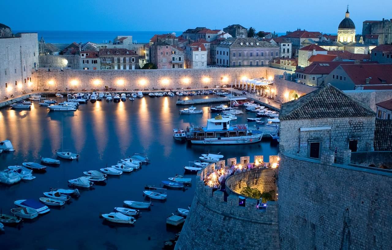 Restaurant 360 in den historischen Wehranlagen von Dubrovnik