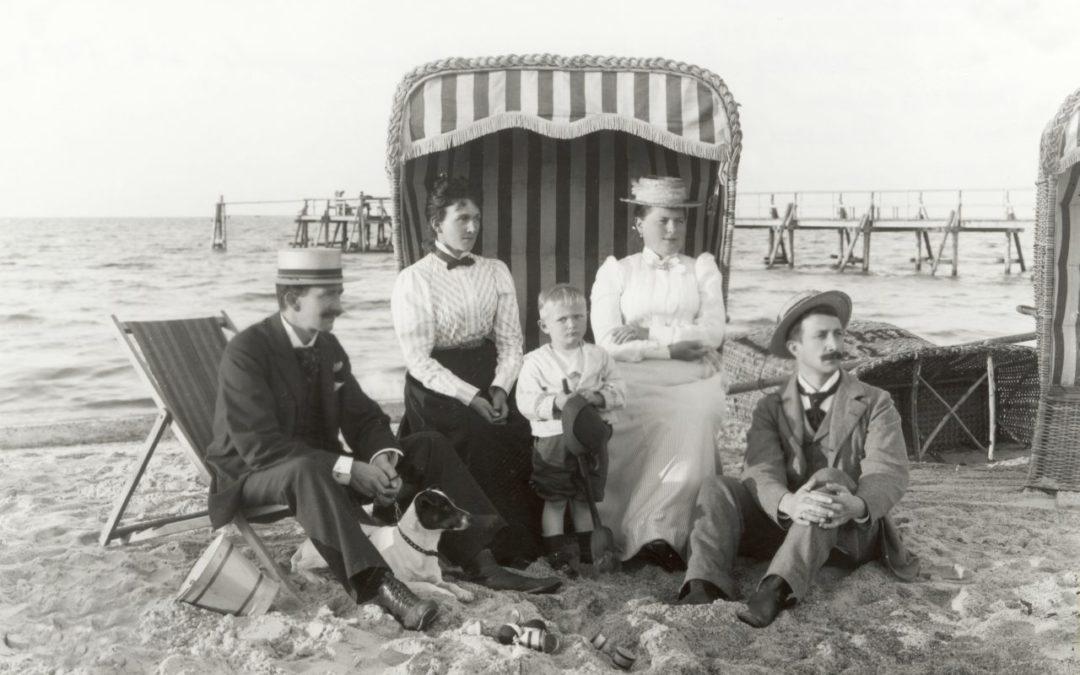 Der erste Strandkorb in Mecklenburg-Vorpommern