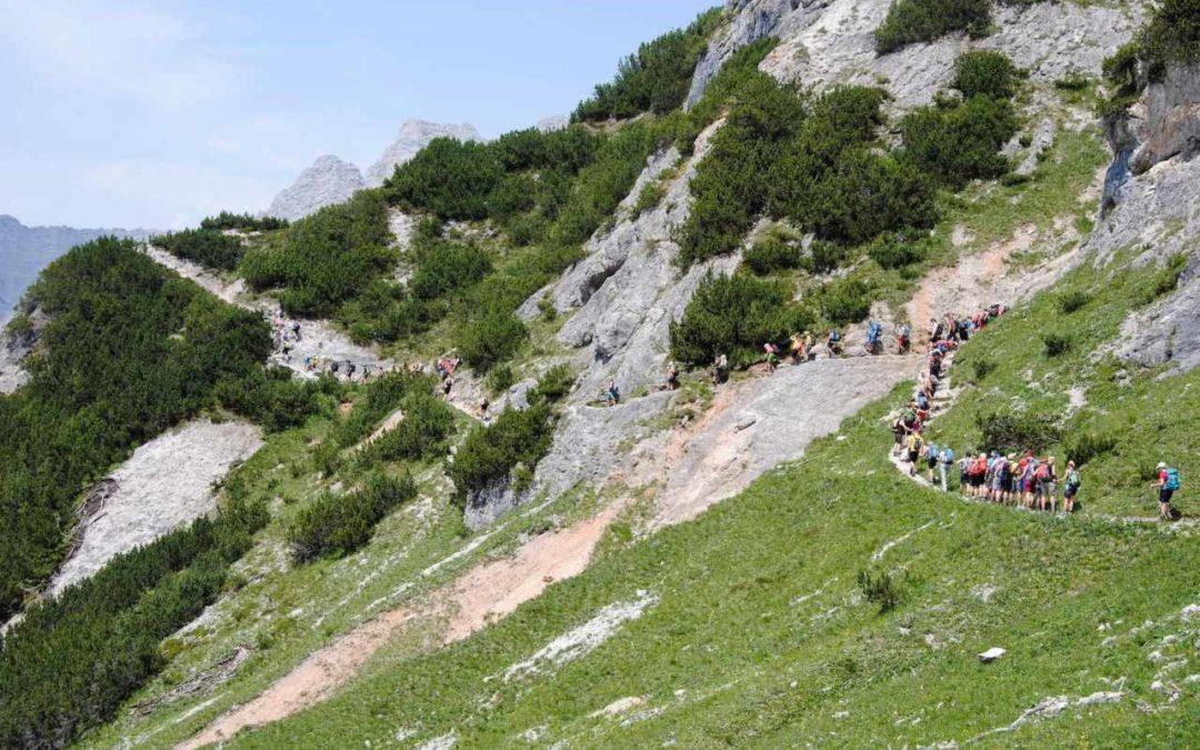 Stoabergmarsch 2018 – 24 Stunden Wandern zwischen Tirol und Salzburger Land