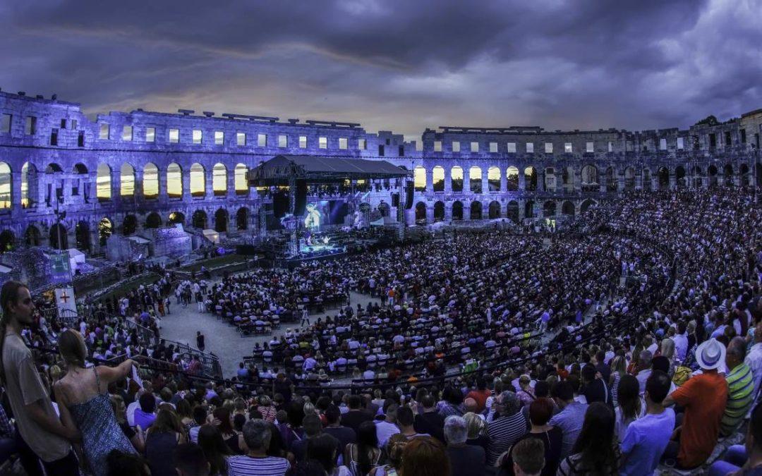 Sommerevents 2018 in der Arena von Pula