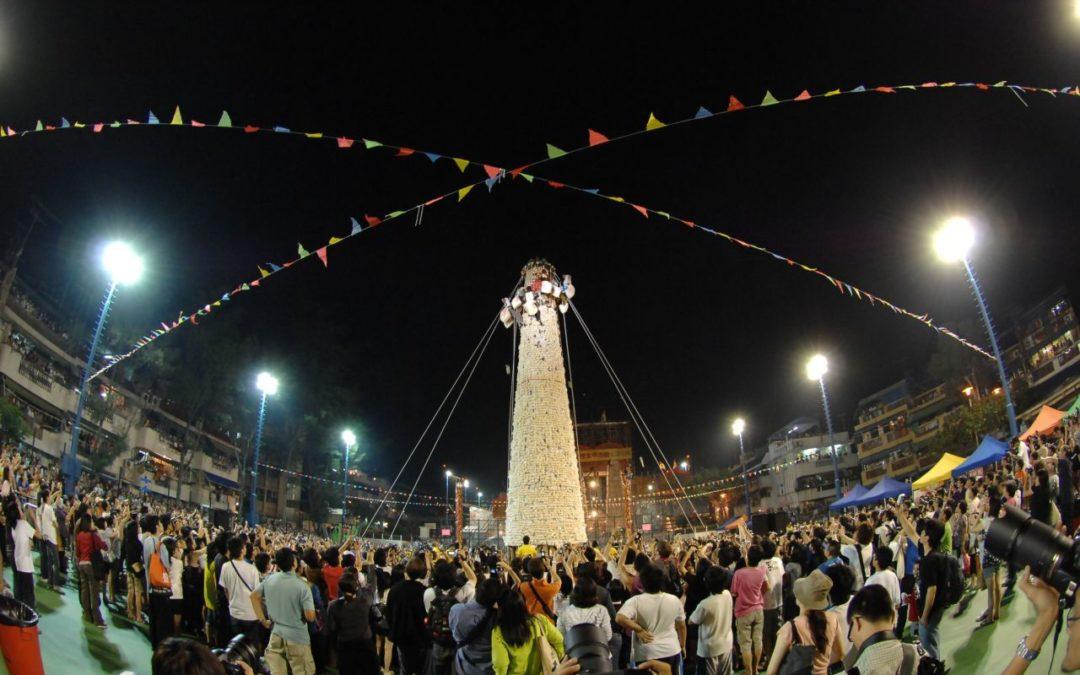Hongkong: Brötchen-Fest auf der Insel Cheung Chau