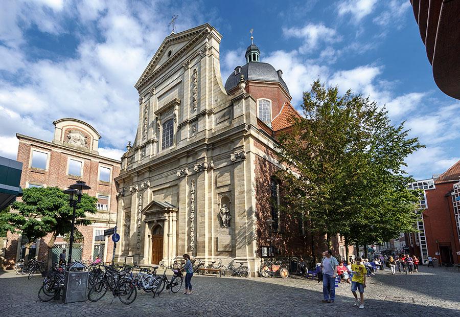 Foucaultsches Pendel für die Dominikanerkirche in Münster