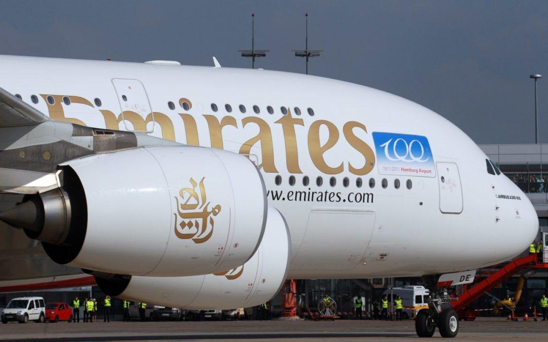 Flughafen Hamburg erhält eine Emirates Airbus A380-Verbindung