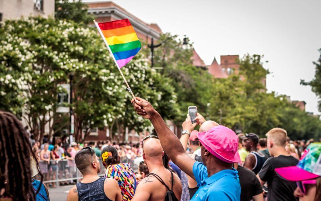 LGBTQ-Gemeinschaft trifft sich zur Capital Pride Celebration 2018