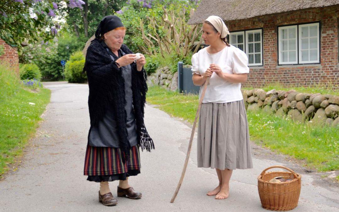 """Dritte Staffel von """"Living History Sylt"""" in Keitum"""
