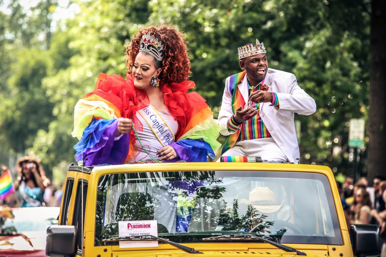 Miss Capital Pride bei der Capital Pride Celebration