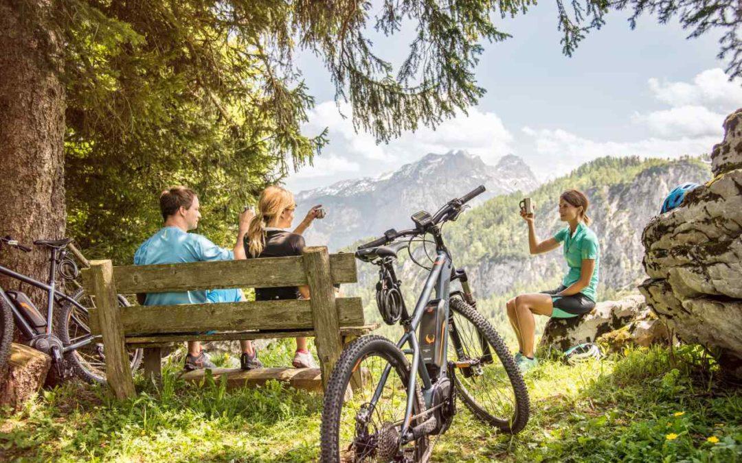 Erstes E-Bike-Camp im Salzburger Saalachtal
