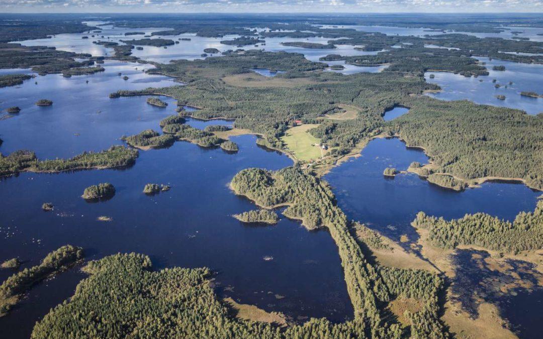 Kronprinzessin Victoria weiht Åsnens Nationalpark ein
