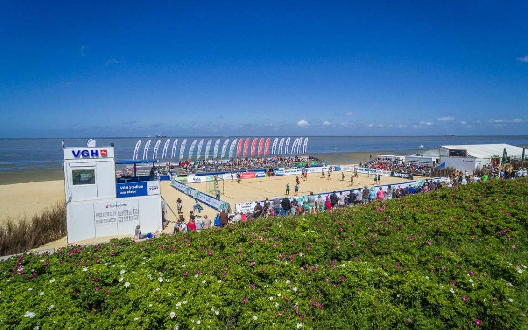 Cuxhaven startet in die Beachsport-Saison 2018