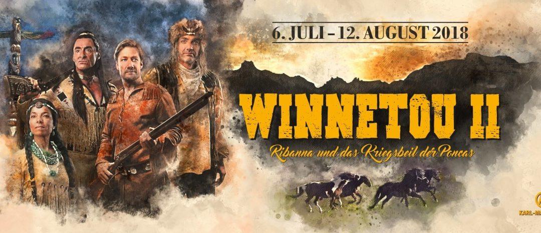 Winnetou II auf der Freichlichtbühne in Engelberg