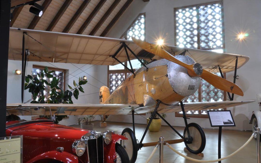 Albatros D-3-Jagdflugzeug im Gerhard Porsche Oldtimermuseum
