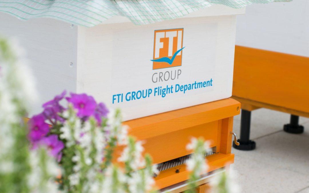 FTI Group übernimmt Patenschaft für drei Bienenvölker
