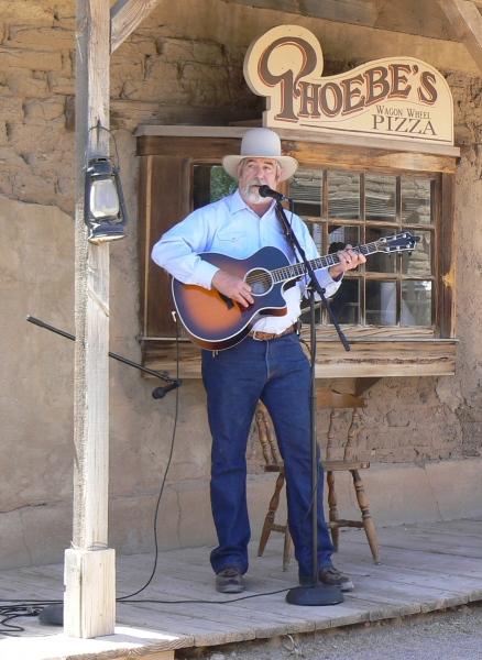 Jodelnde Cowboys beim Cowboy Poets Gathering in Prescott