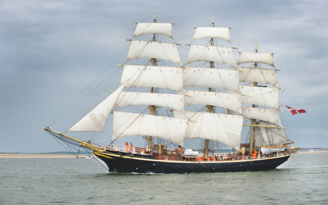 Groß-Segelevent Tall Ships Races 2018 in Esbjerg