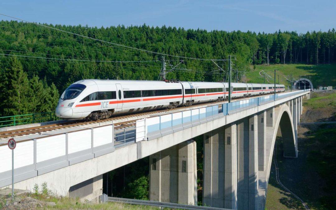 Neue Bahn-Schnellfahrstrecke Berlin-München übertrifft Erwartungen