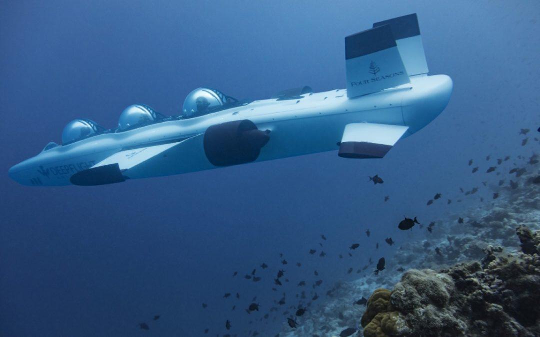 Mit dem Mini-U-Boot in die Unterwasserwelt der Malediven