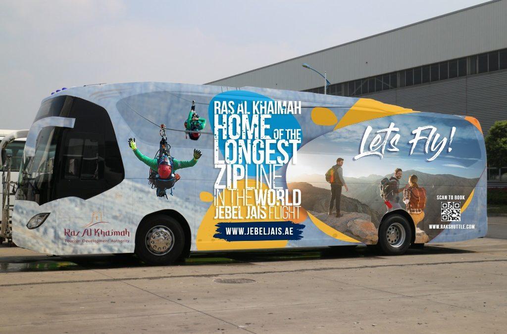Kostenloser Bus Shuttle vom Flughafen Dubai nach Ras Al Khaimah