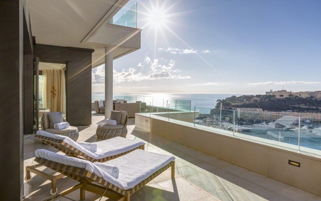 Suiten mit Blick auf die Highlights von Monaco