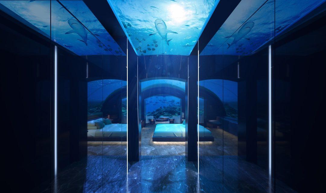 Erste Unterwasserresidenz der Malediven