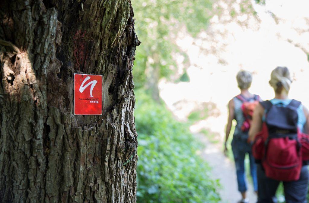 Neue Rundwege zu Sehenswürdikeiten entlang des neanderland Steigs