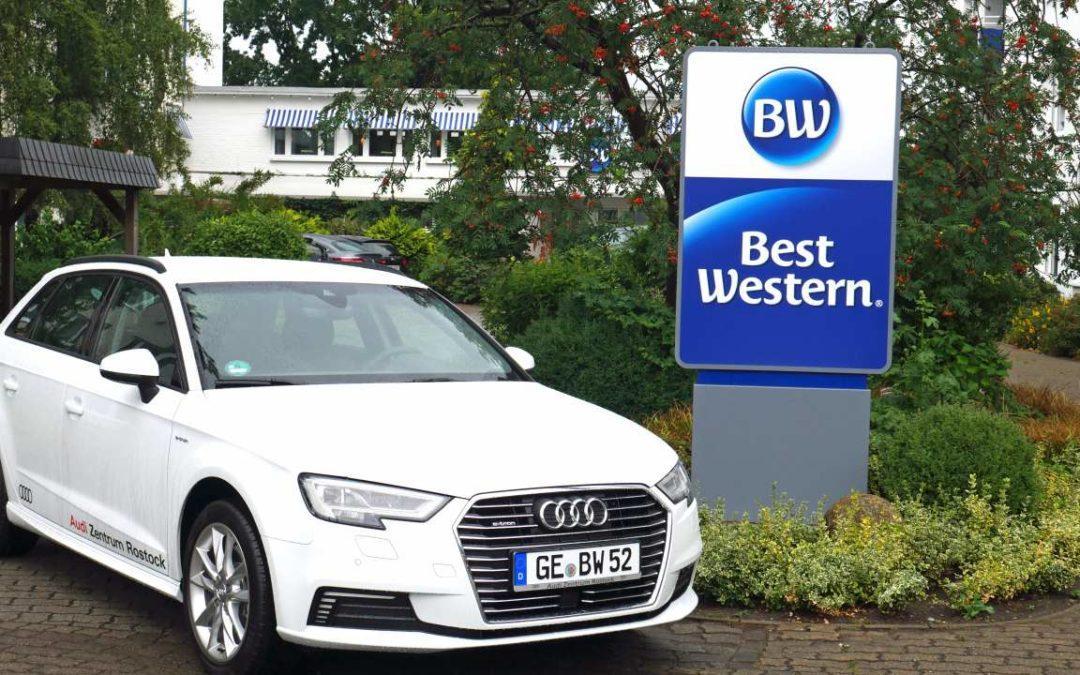 Hybridautos im Best Western Hanse Hotel Warnemünde