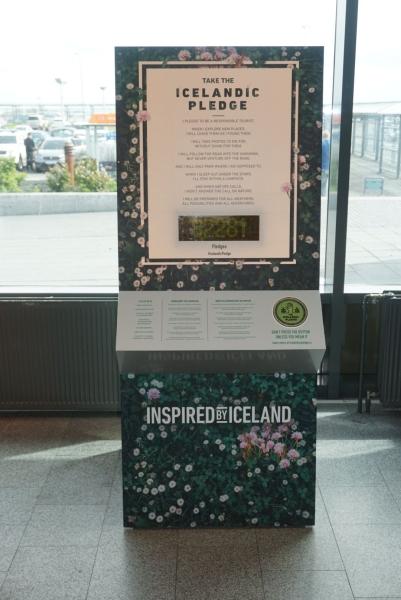 Isländischer Schwur zum nachhaltigen Reisen
