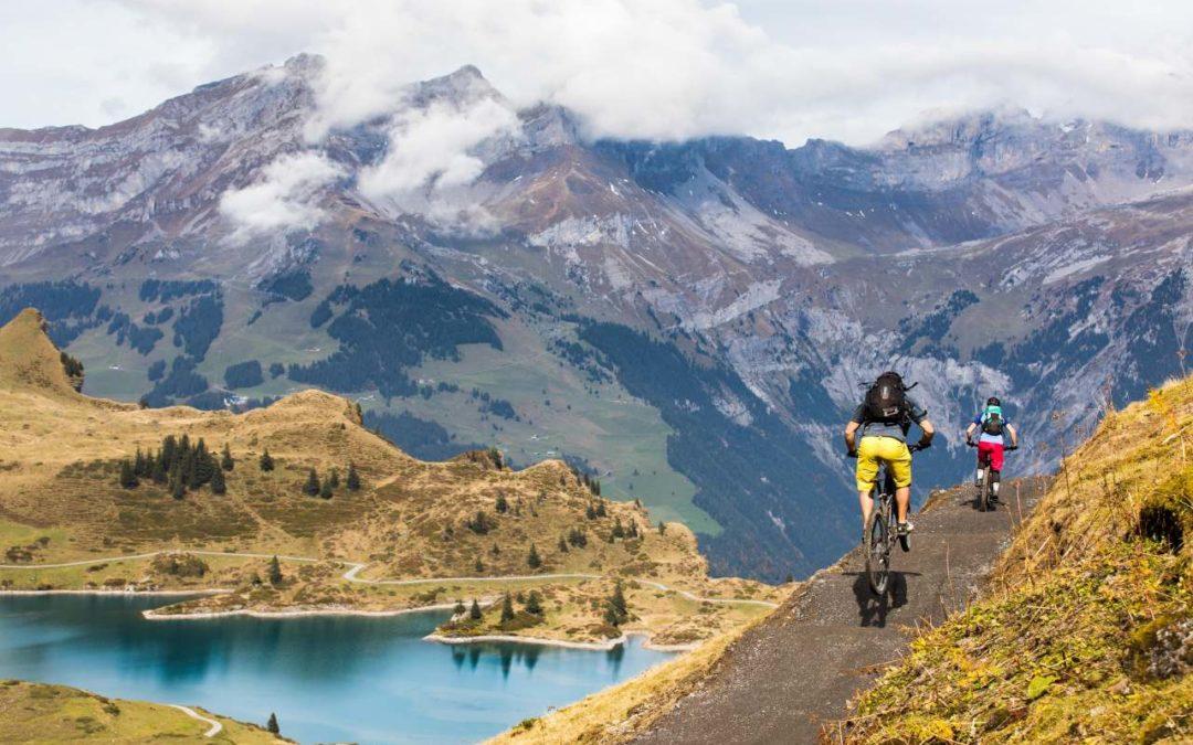 Trainings für sicheres MTB-Vergnügen am Jochpass-Trail
