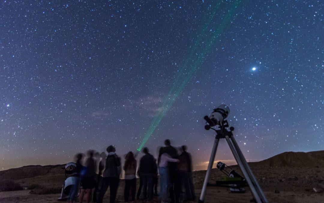 """Sternschnuppen beim """"Sternensommer""""-Festival in der Negev-Wüste"""