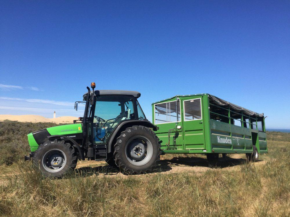 Traktorfahrt zum Rubjerg Knude Fyr