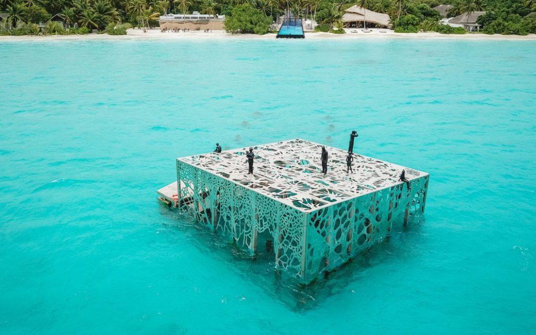 Erstes Unterwasser-Skulpturenmuseum der Malediven
