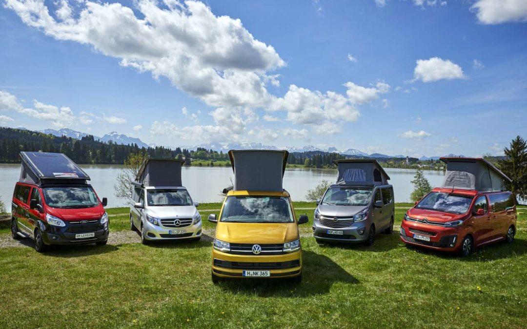 ADAC Test 2018 für die gängigsten Campingbusse
