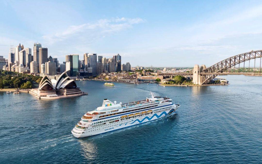 AIDAaura Weltreise 2019/2020 kann gebucht werden