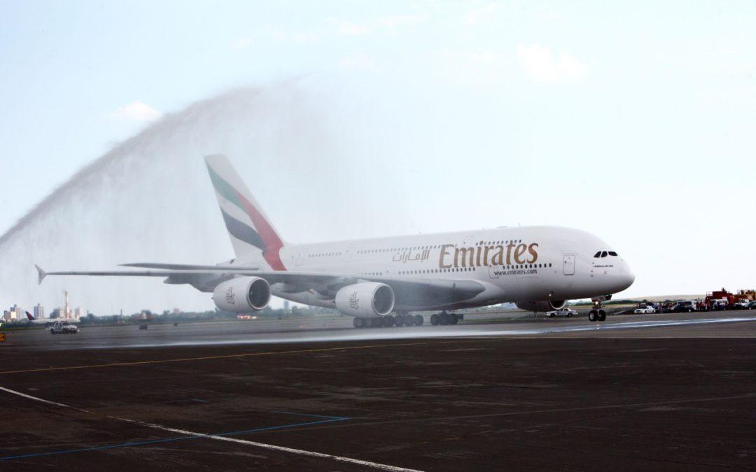 Emirates feiert zehn Jahre Airbus A380