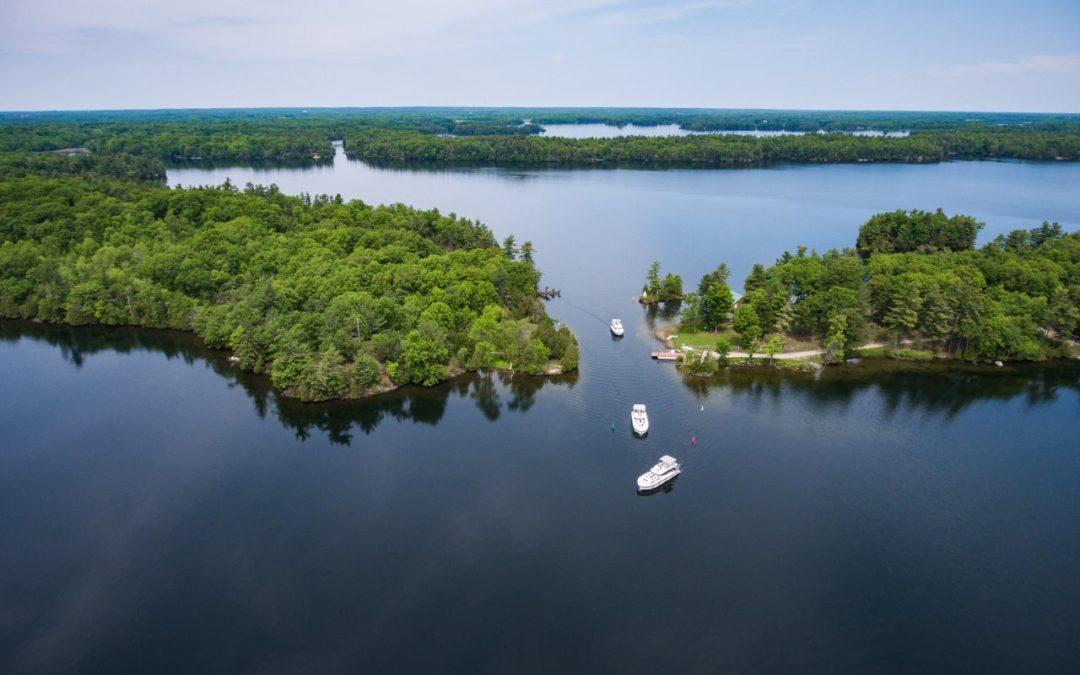 Mit Hausboot und Kanu durch die Provinz Ontario