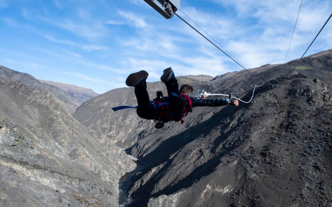 Neuseeland Anschlag Picture: Horizontales Bungee-Erlebnis In Neuseeland