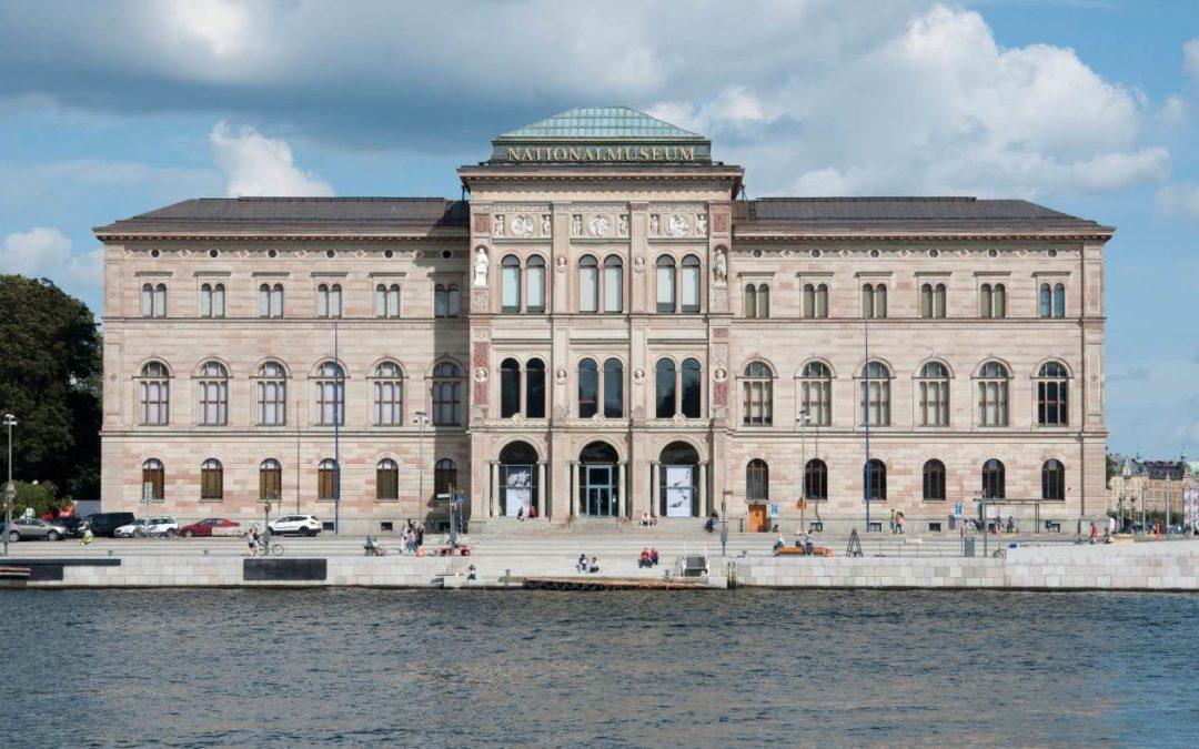 Schwedisches Nationalmuseum in Stockholm vor Wiedereröffnung