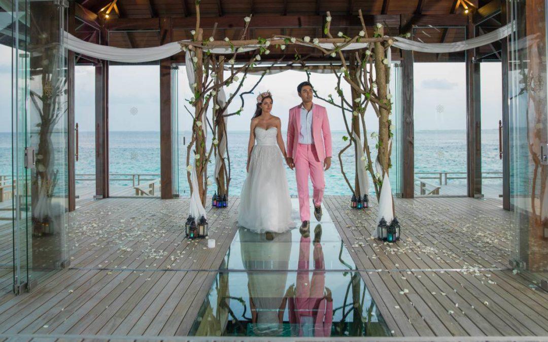Neuer Hochzeitspavillon im Jumeirah Vittaveli Resort auf den Malediven