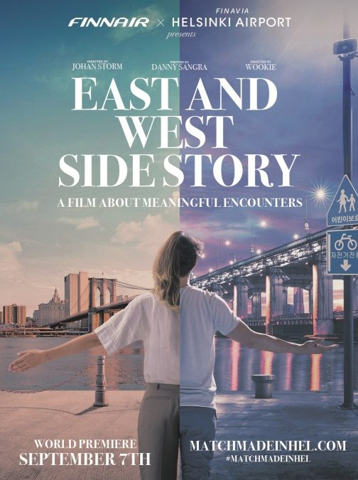 Finnair Kurzfilm East and West Side Story