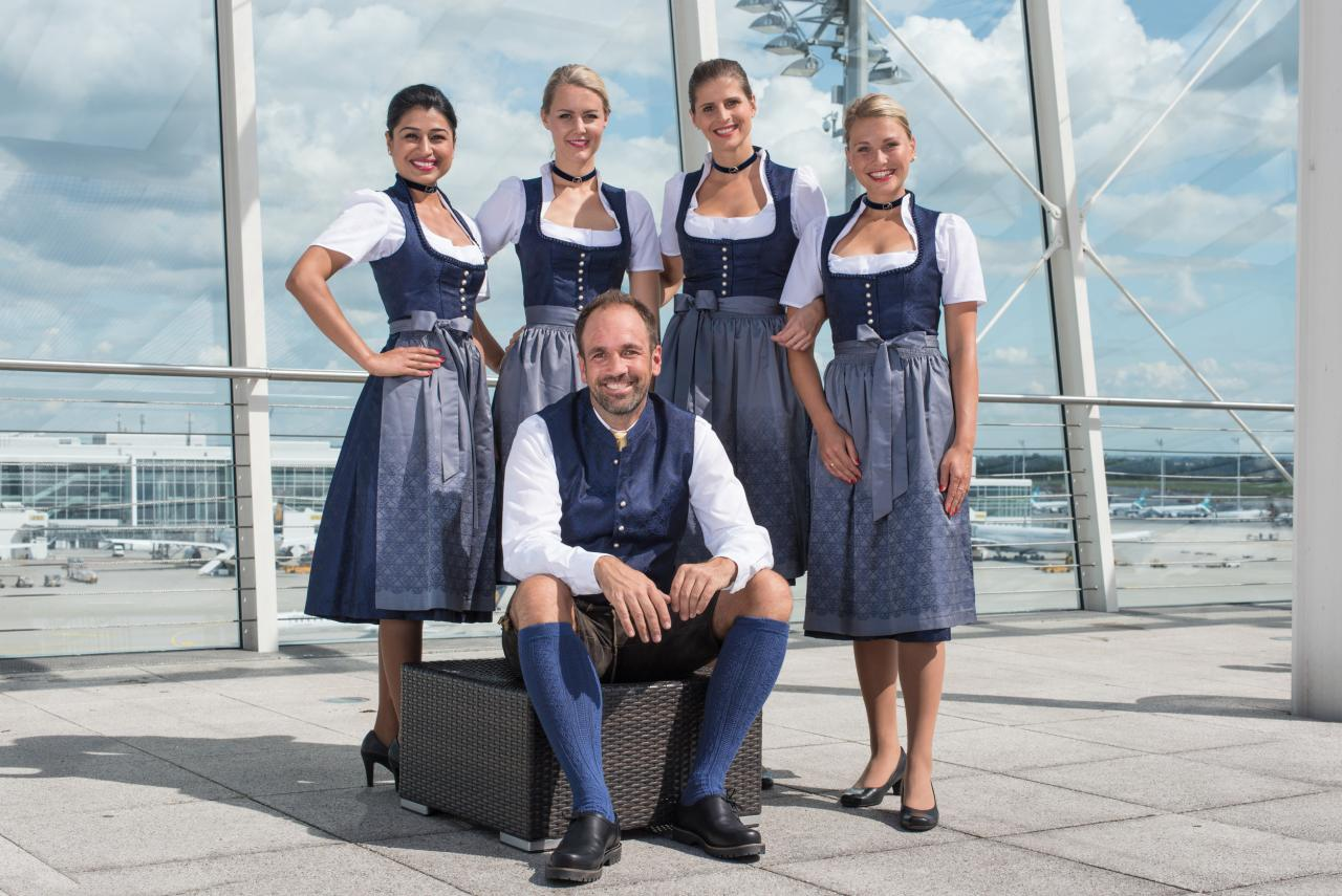 Lufthansa Oktoberfest-Trachtencrew 2018
