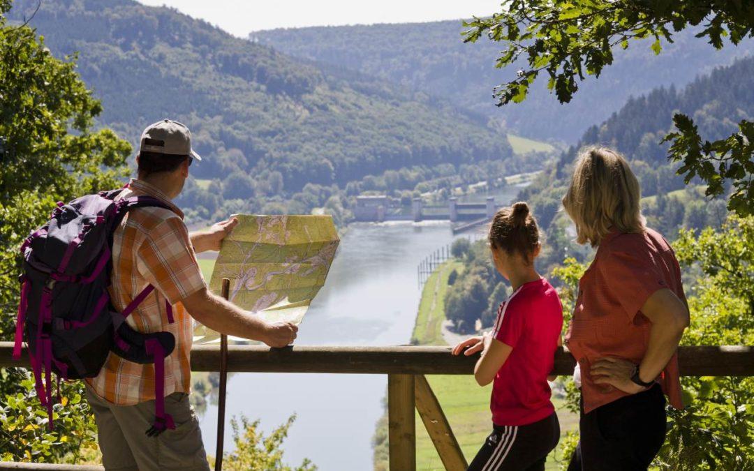 Deutschlands schönster Wanderweg 2018 ist der Neckarsteig