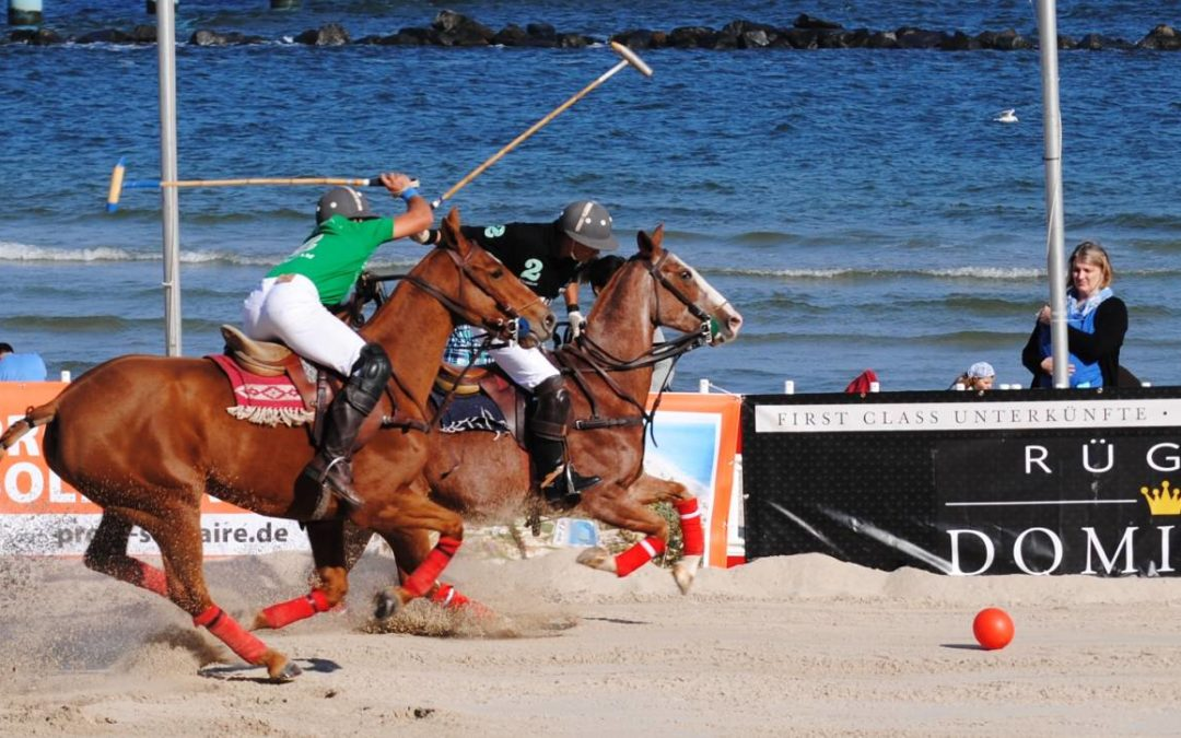 German Beach Polo Championship 2018 in Sellin