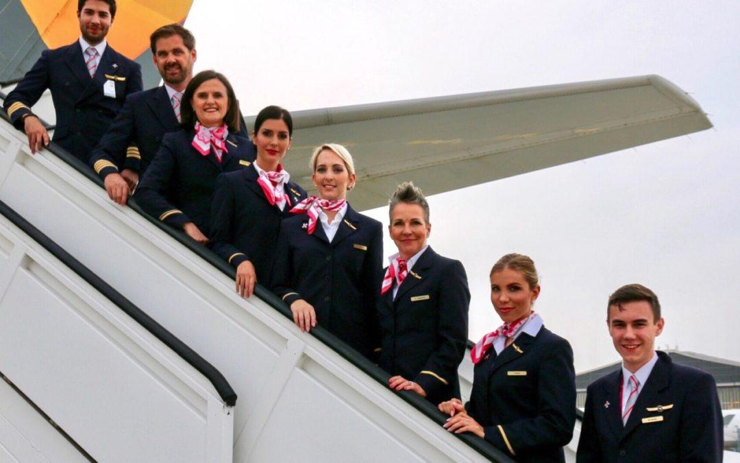 FlyPink – Condor unterstützt Kampagne gegen Brustkrebs